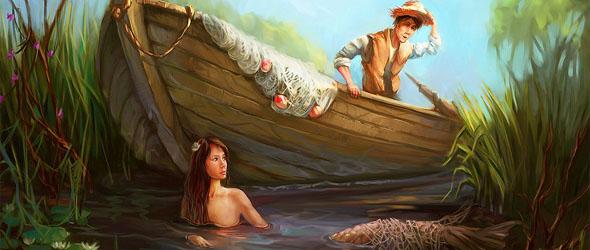 Сказка о рыбаке и русалке